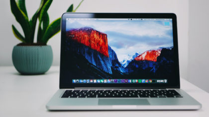 MacBook mit High Sierra installiert