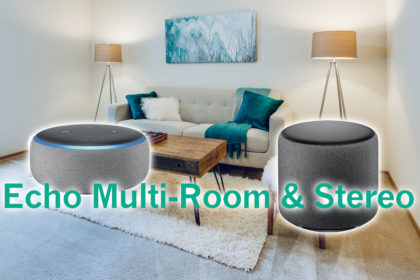 Amazon Echo Multiroom & Stereo-Paar