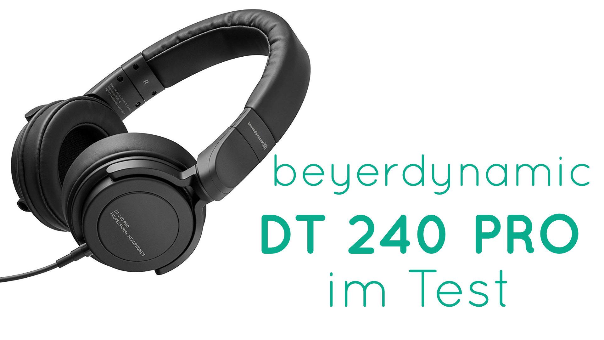 Titelbild des Tests zu beyerdynamic DT 240 PRO Kopfhörer